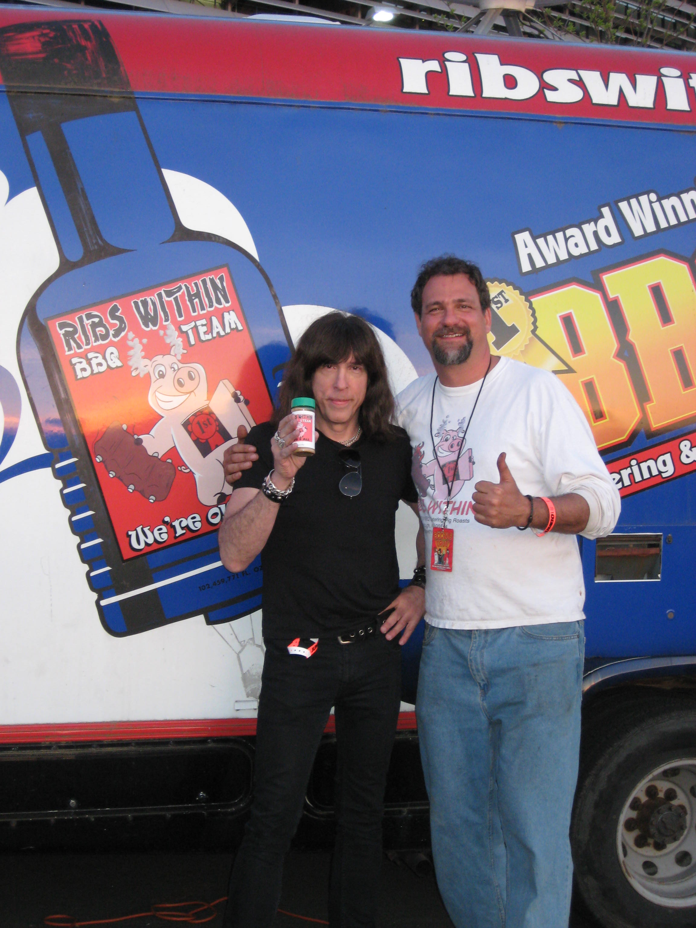 April showers bring may showers and some trophies too for Marky ramone marinara sauce
